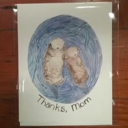 Thanks Mom Otter Card