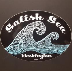 Salish Sea Wave Oval