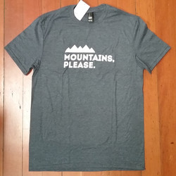 Mens Mountains Please T-Shirt
