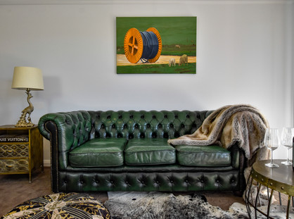 NEW ART SUITES EXHIBIT CONTEMPORARY ART AT THE FARMERS ARMS HOTEL