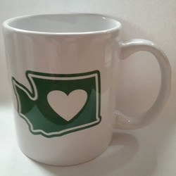 WA Heart Washington Mug