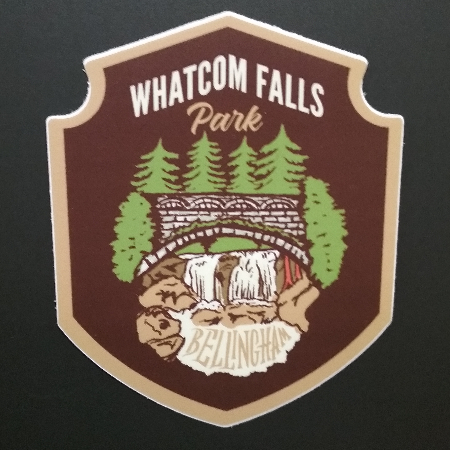 Whatcom Falls Park Sticker