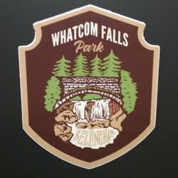 Whatcom Falls Park Sticker