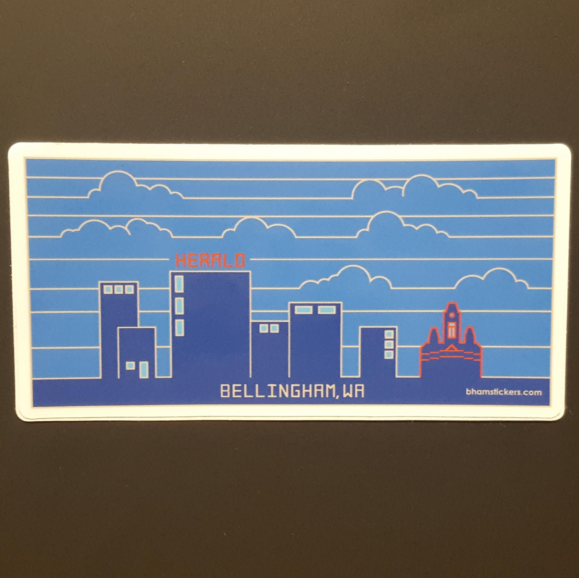 Evan Dahl Bellingham Skyline