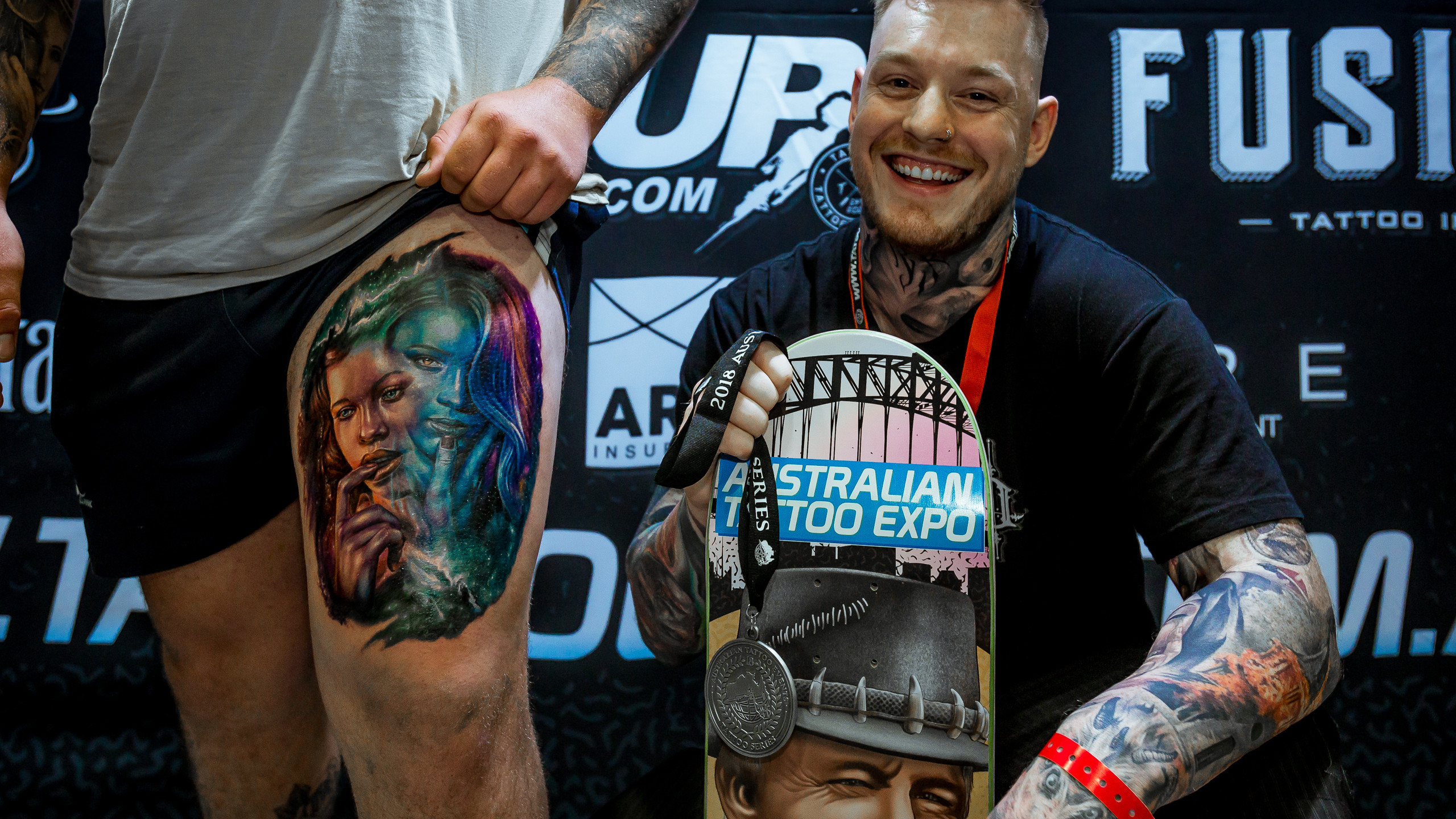 2018 Australian Tattoo Series Champion, Andrew Smith