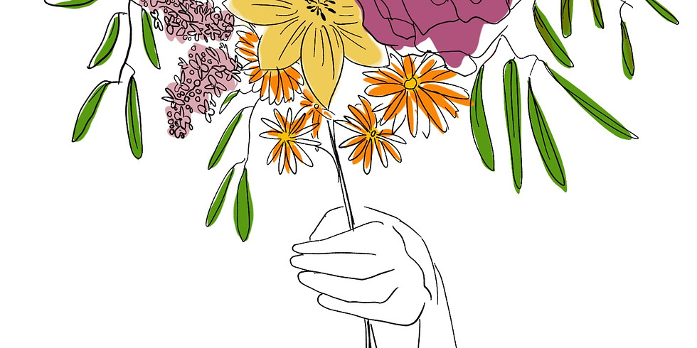 Drawing Flowers for beginners