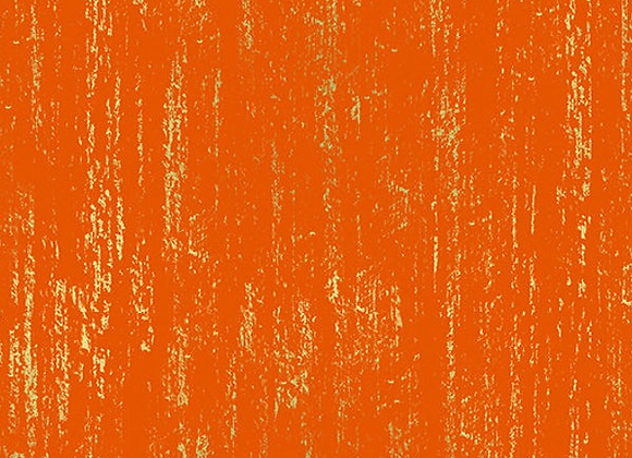 Tiger Fly Brushed Metallic Orange Fire by Ruby Star Society