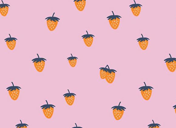 Backyard Berry in Candy by Dana Willard by Art Gallery Fabrics