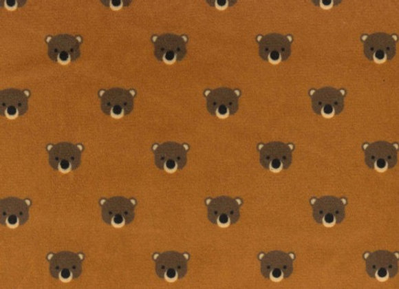 Bear Cubs Minky SMP129-cocoa by Michael Miller Fabrics