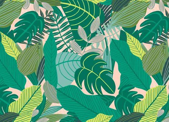129.102.02.2 BLEND Junglemania Jungle in Green