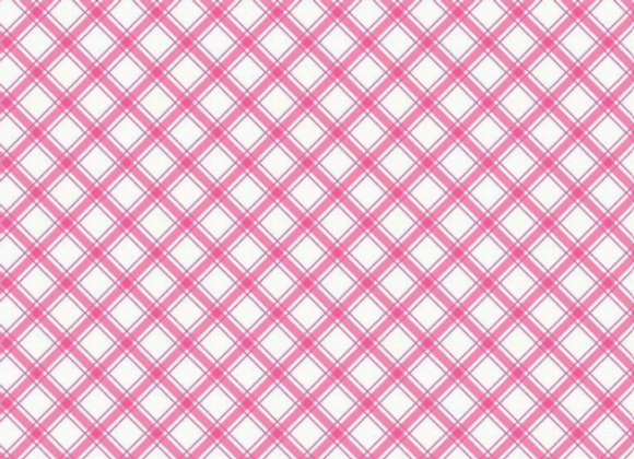 I'd Rather Be Glamping Plaid Hot Pink by Riley Blake