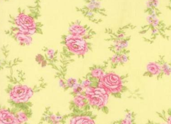 Moda Fleurs Buttercup by Brenda Riddle Acorn Quilts