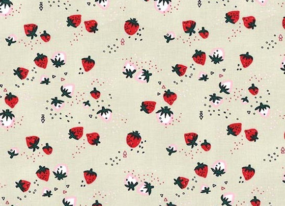 DH857-Bisq-D Strawberry Delight by Michael Miller Fabrics