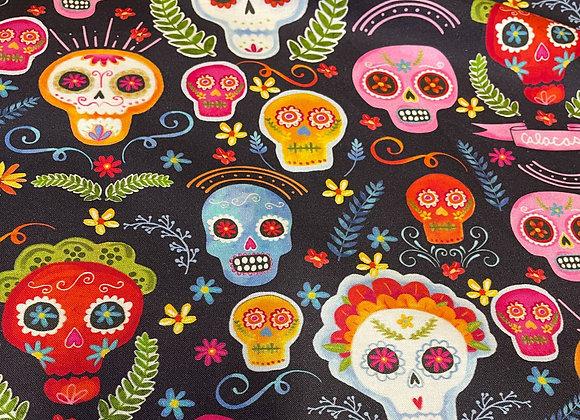 Sugar Skulls by Michael Miller Fabrics