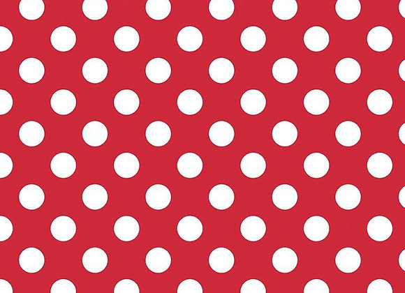 C360-80 Red Medium Dots by Riley Blake