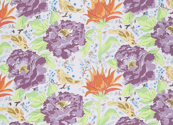 PWLH016-GRAY Color Fusion - Birds of Paradise by Laura Heine