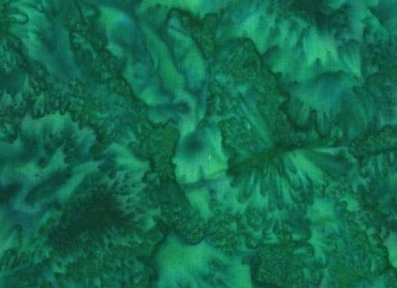 Hoffman Batik Fabric Belize 1895-362 Green