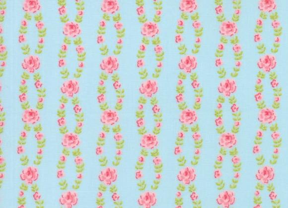 Moda Fleurs Bluebell by Brenda Riddle