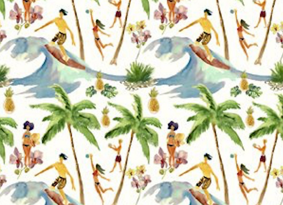 Mini Tropicals, In the Beginning Fabrics- Surf's Up
