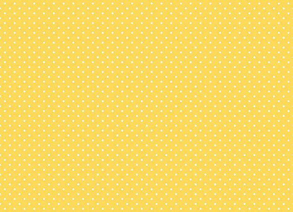 Swiss Dot On Yellow C670-50 Yellow by The RBD Designers for Riley Blak