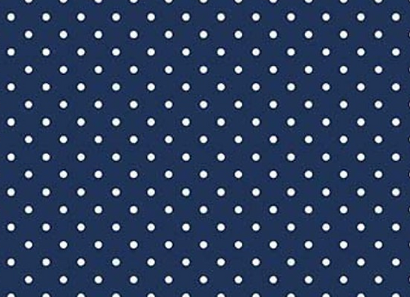 Navy Swiss Dot Basics C670-21 NAVY by Riley Blake