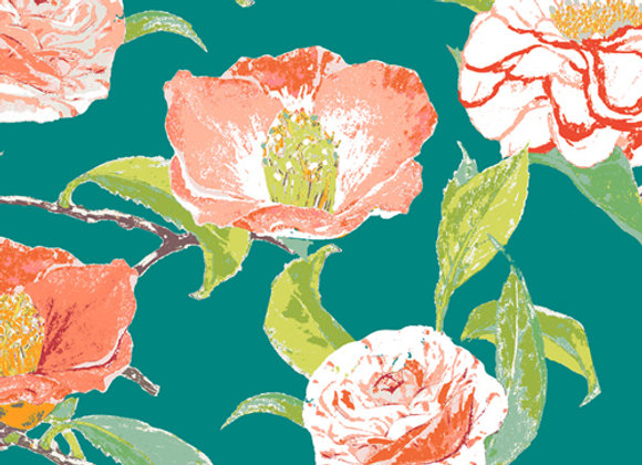 FSH-27409 Evergreen Camelia Floralish by Katarina Roccella for AGF