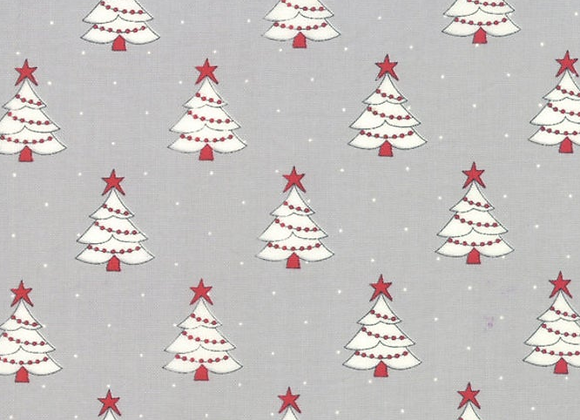 Country Christmas Dusty Grey by Moda