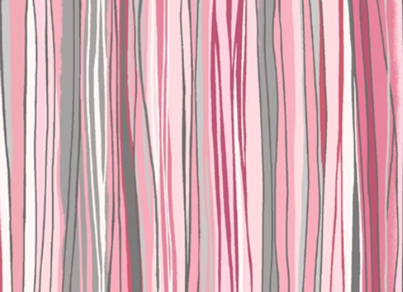 Soulful Shades -Sketchy Fabric - Pink