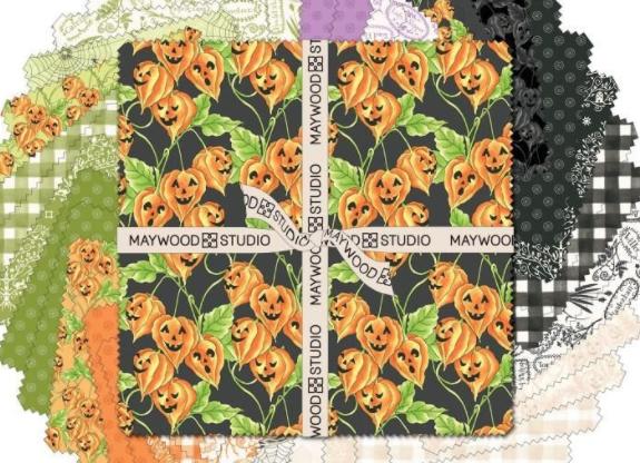 Maywood Studio10in Squares Spellcaster's Garden 40pcs #SQ-MASSCG