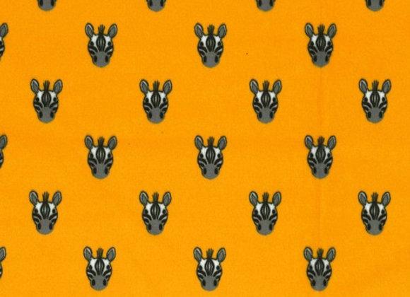 Zebra Foals Minky SMP8116-gold by Michael Miller Fabrics