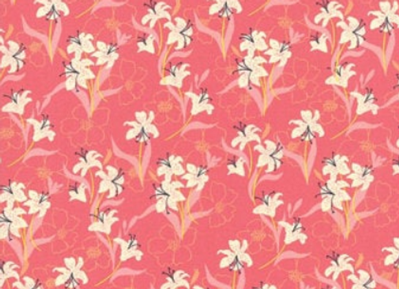 Moda Kiamesha Tiger Lily, Pink by Crystal Manning 11852 14
