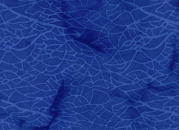 Island Batik Netting BE27-D1 Blueberry