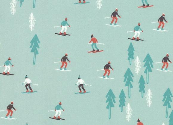 Tahoe Ski Week Alpine Ski Slope by Moda