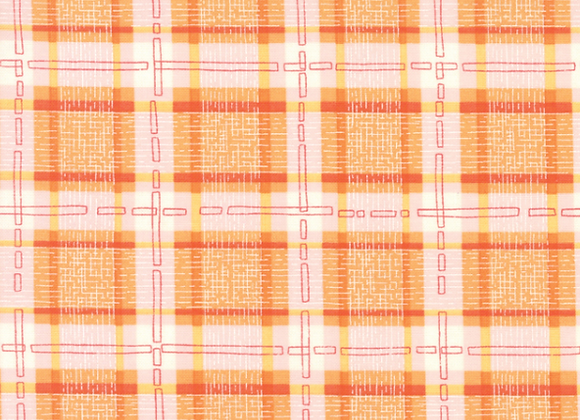 Abby Rose Citrus Plaid With Ease by Moda