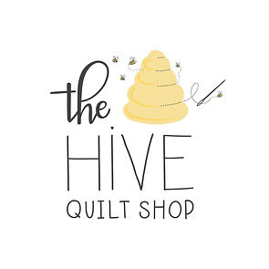 the hive quilt shop offical logo avatar.