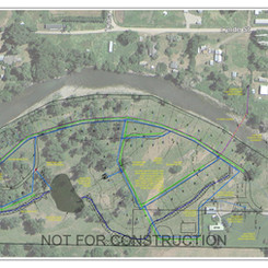 This is the project plan and layout. Historically, this land has accommodated 6 people. The new plan would allow 200+ more people to trample this fragile island.