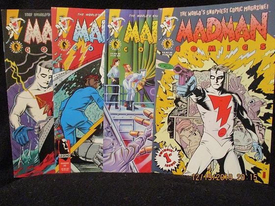 Madman Comics #1-#4