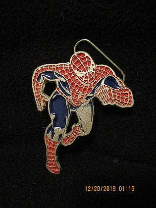 Spider-Man belt buckle