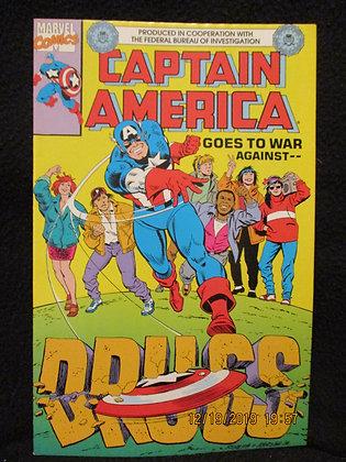 Captain America promotional comic