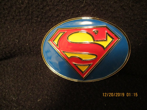 Superman belt buckle