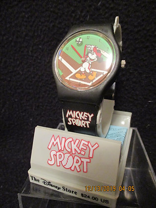Sport Mickey wrist watch