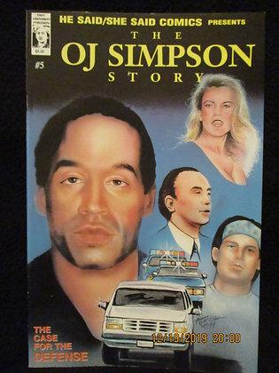 OJ Simpson/Nicole Simpson story