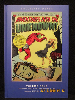 Adventures Into The Unknown vol 4