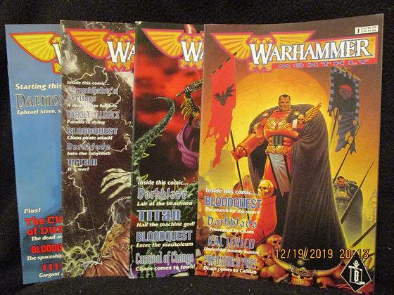 Warhammer Monthly #1-#4