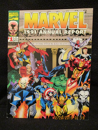 Marvel 1991 Annual Stock Report