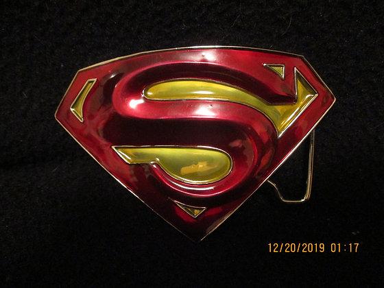 Superman belt buckle 2