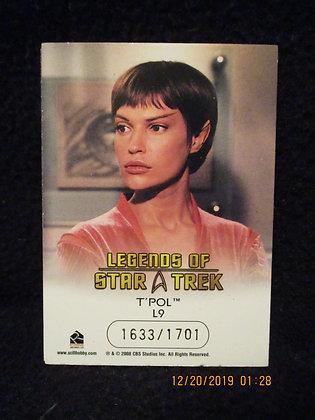Star Trek TPol card set