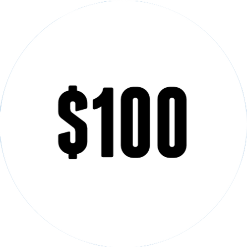 $100 DBS Donation