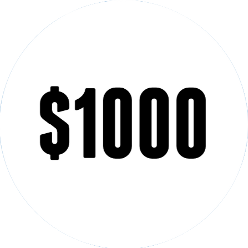 $1000 DBS Donation