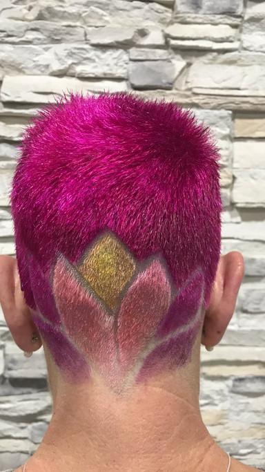 Tattoo Hair dessing